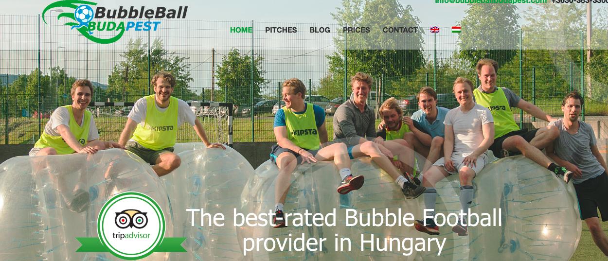 zorb football budapest